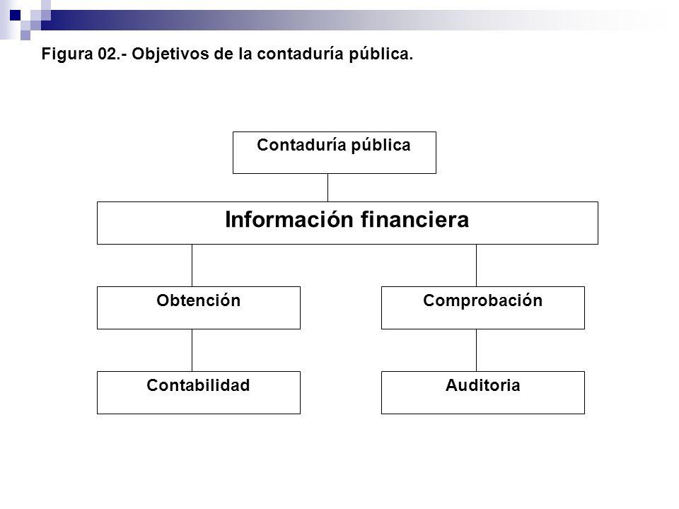 Figura 02.- Objetivos de la contaduría pública.