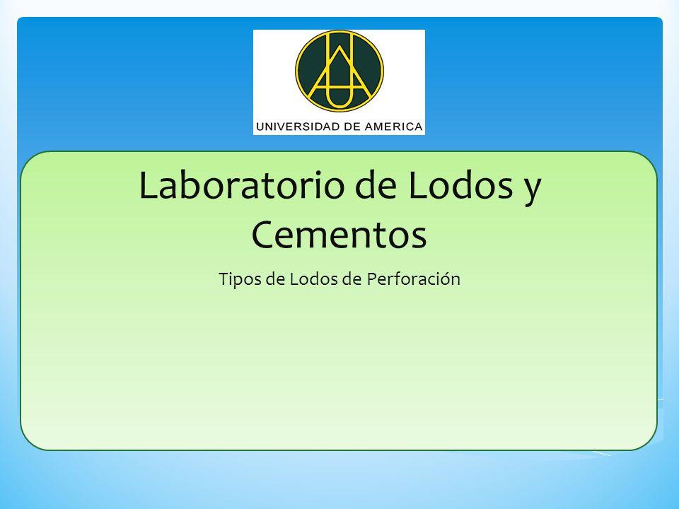 Laboratorio de Lodos y Cementos