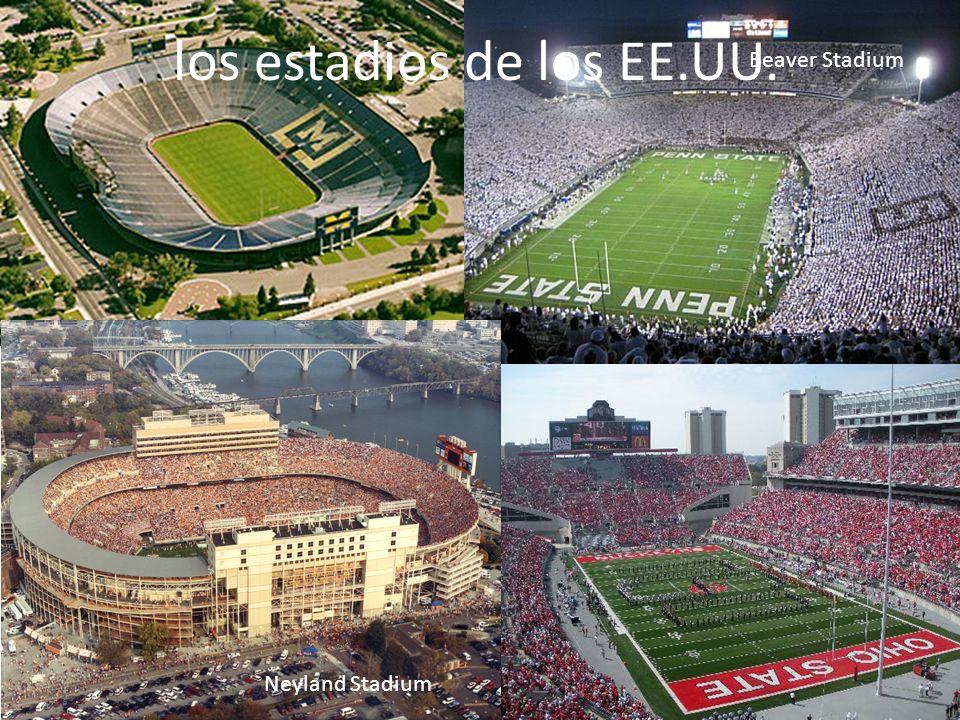 los estadios de los EE.UU.