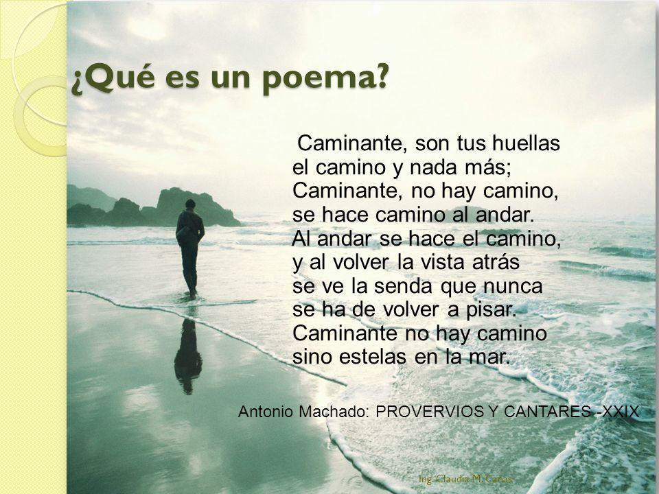 ¿Qué es un poema