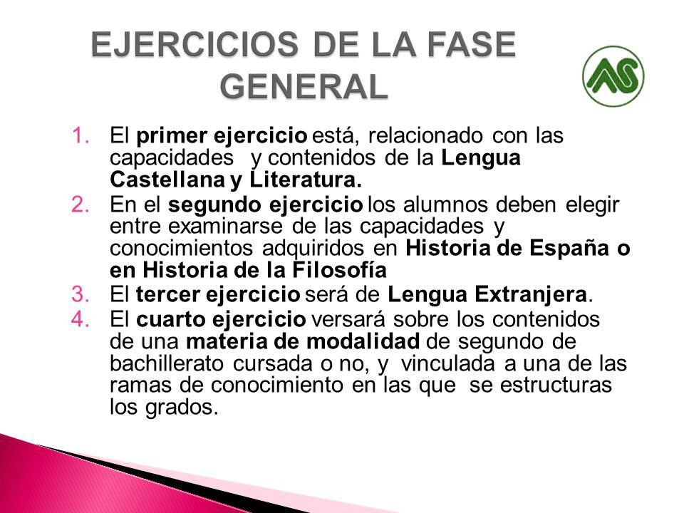 EJERCICIOS DE LA FASE GENERAL