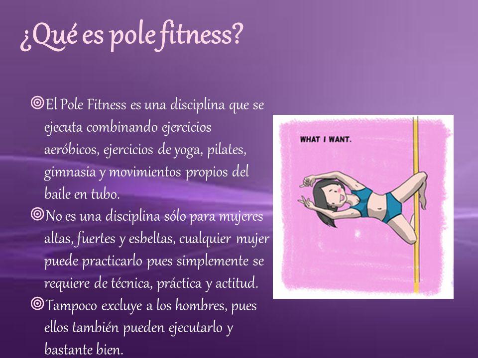 ¿Qué es pole fitness