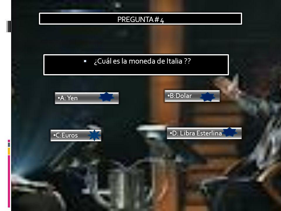 ¿Cuál es la moneda de Italia