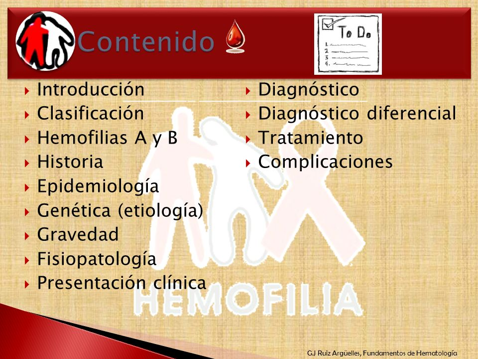 Contenido Introducción Diagnóstico Clasificación