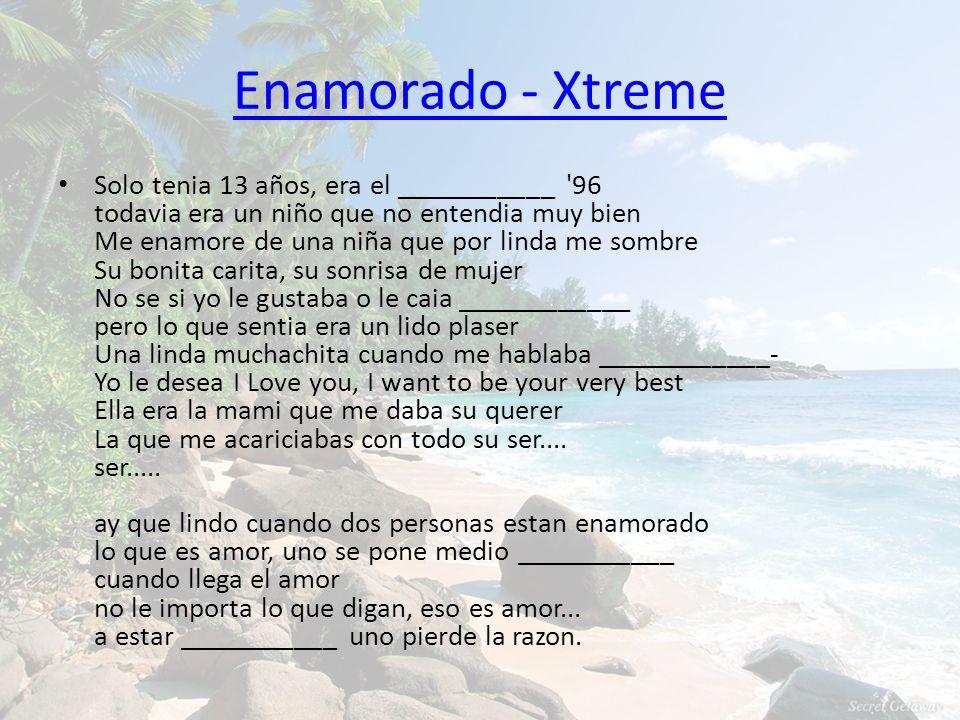 Enamorado - Xtreme