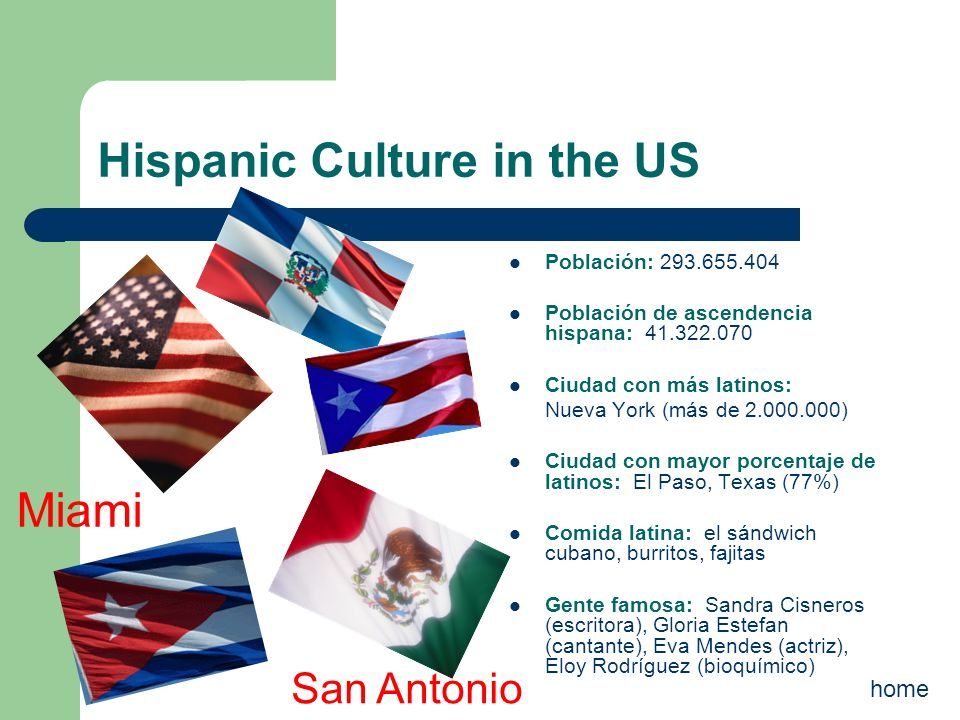 Hispanic Culture in the US