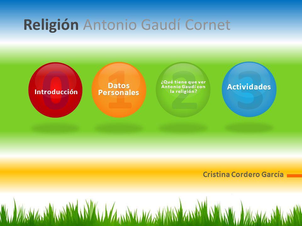 ¿Qué tiene que ver Antonio Gaudí con la religión