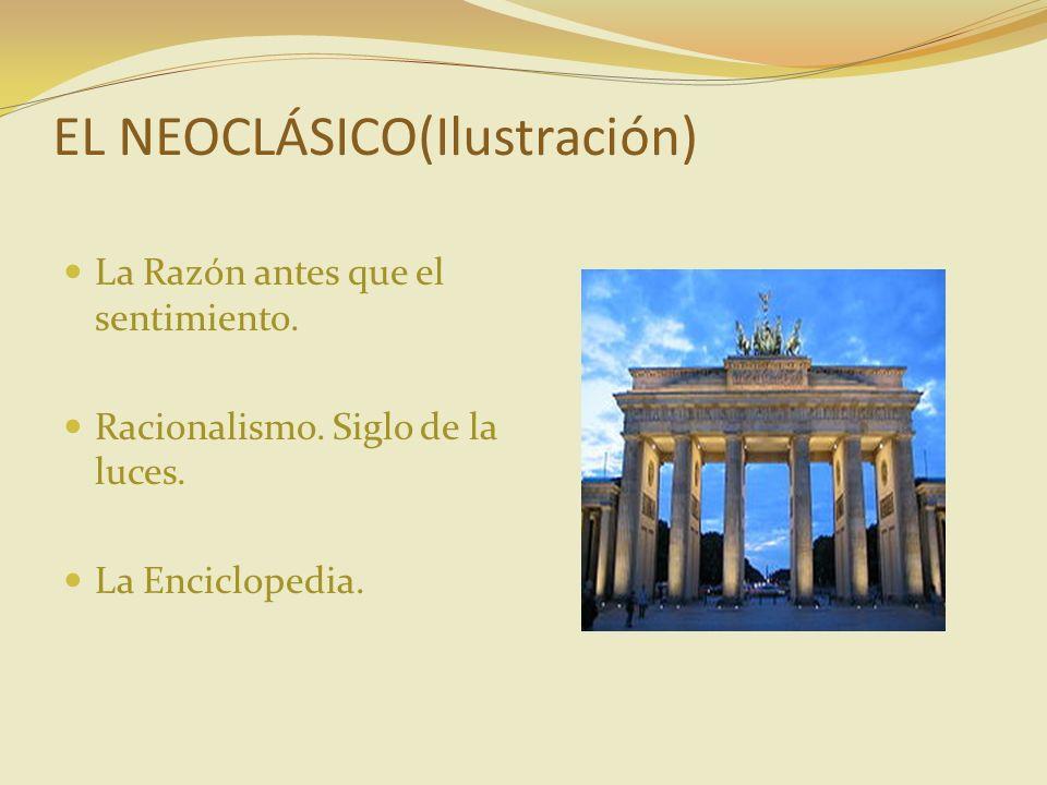 EL NEOCLÁSICO(Ilustración)
