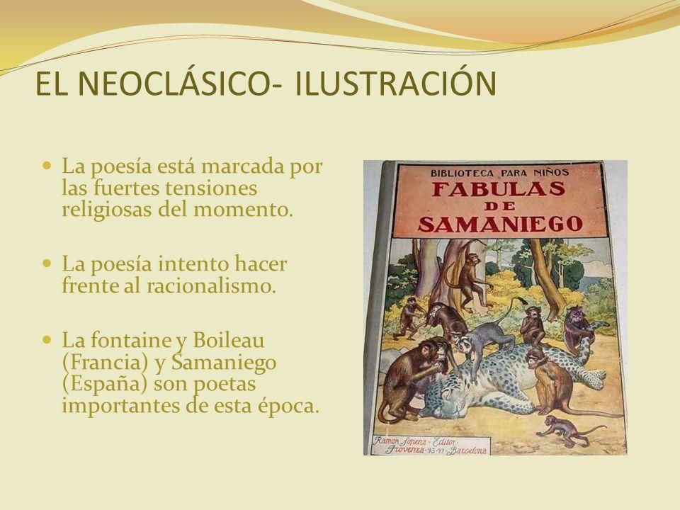 EL NEOCLÁSICO- ILUSTRACIÓN