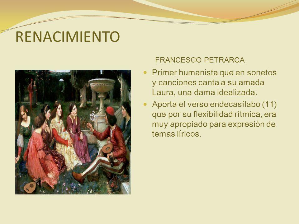 RENACIMIENTO FRANCESCO PETRARCA