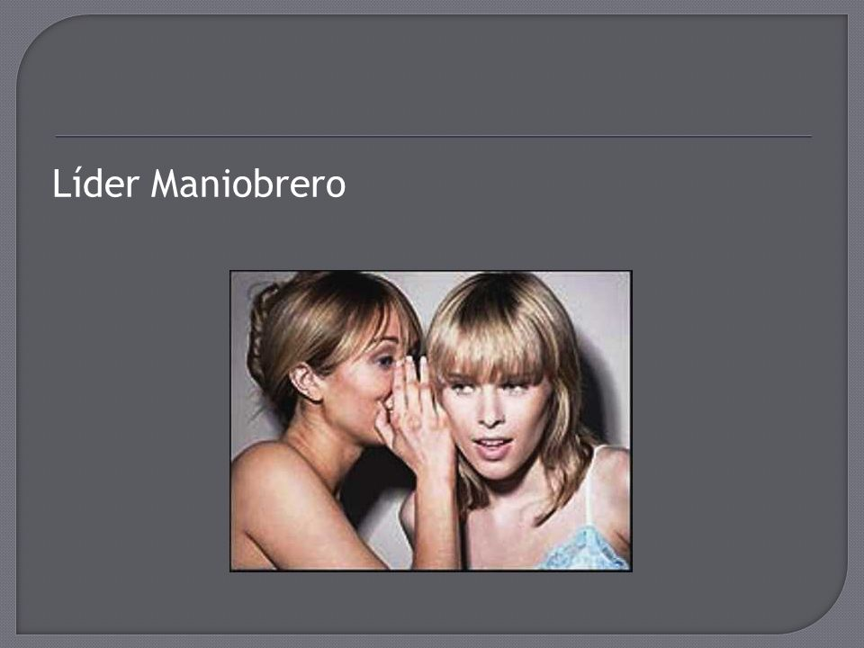 Líder Maniobrero