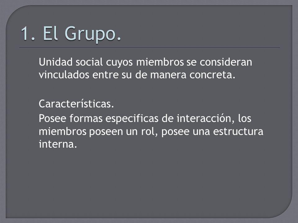 1. El Grupo.