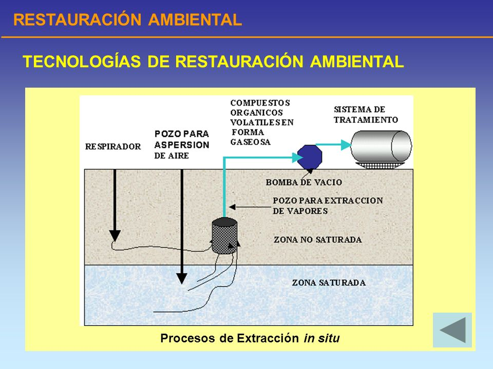 Procesos de Extracción in situ