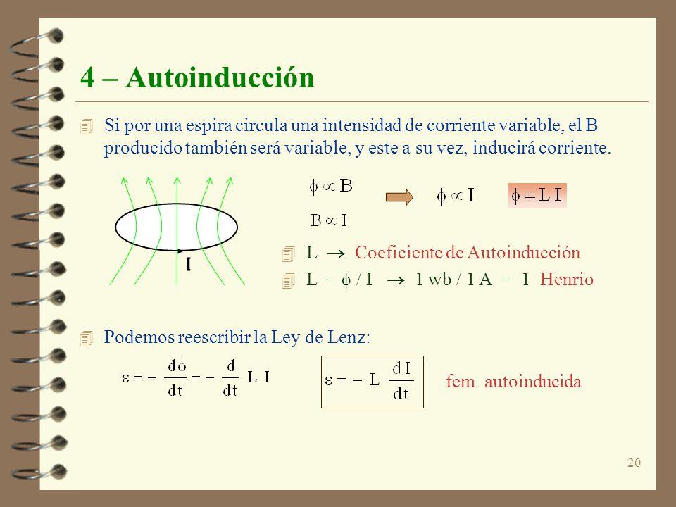 4 – Autoinducción