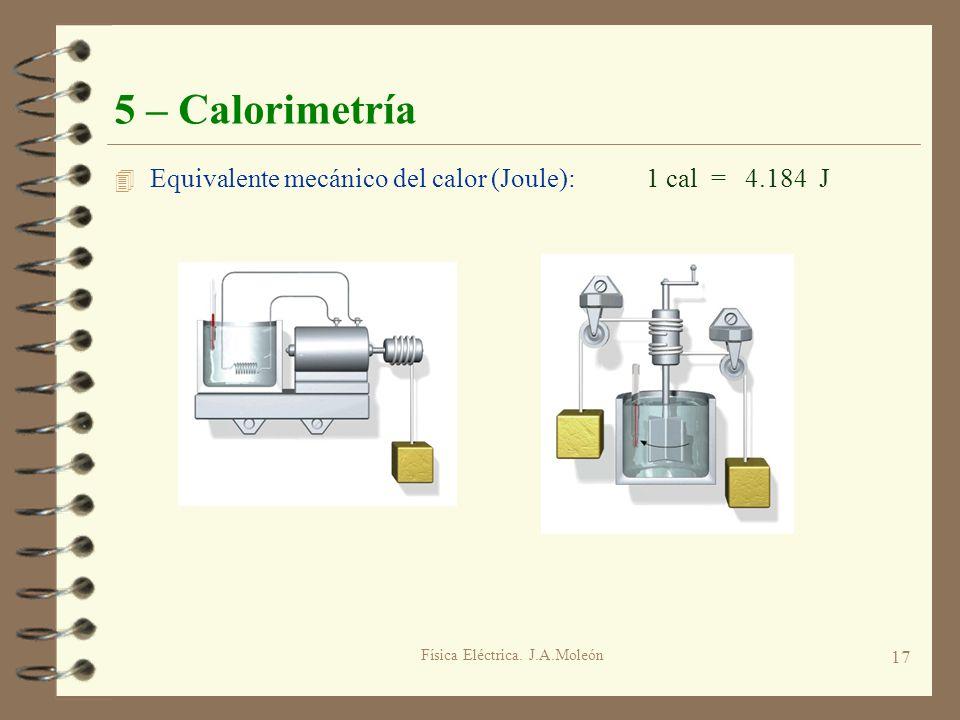 Física Eléctrica. J.A.Moleón