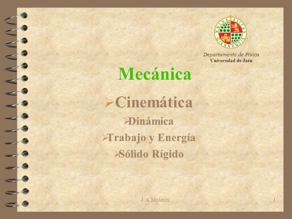 Ondas Cinemática Dinámica Trabajo y Energía Sólido Rígido