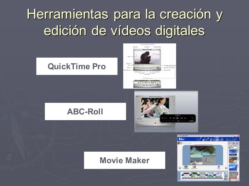 Herramientas para la creación y edición de vídeos digitales