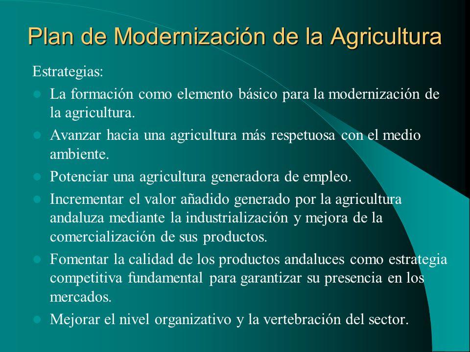 Plan de Modernización de la Agricultura