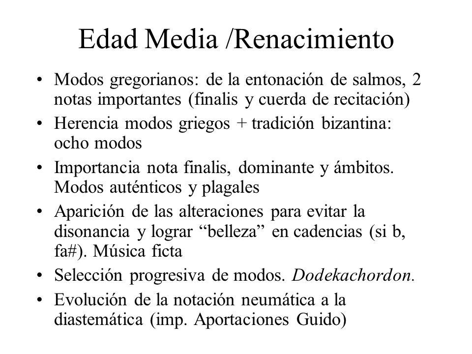 Edad Media /Renacimiento