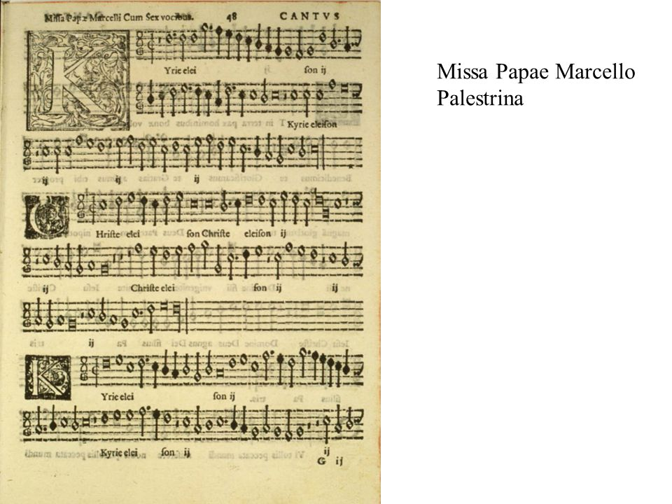 Missa Papae Marcello Palestrina