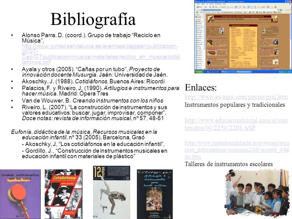 Bibliografía Enlaces: http://www.es-aqui.com/payno/pral.htm