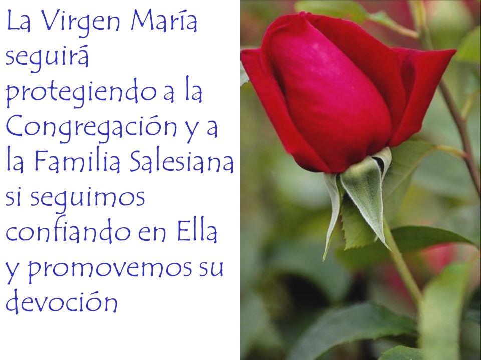 La Virgen María seguirá protegiendo a la Congregación y a la Familia Salesiana si seguimos confiando en Ella y promovemos su devoción