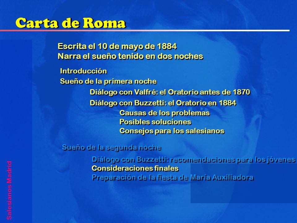 Carta de Roma Escrita el 10 de mayo de 1884