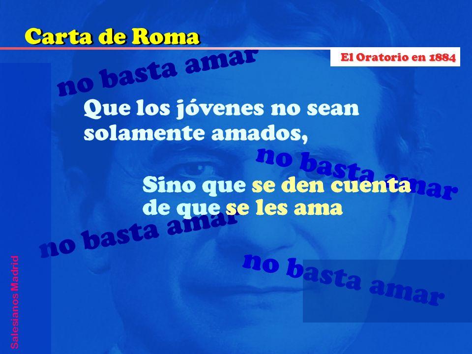 no basta amar no basta amar no basta amar no basta amar Carta de Roma