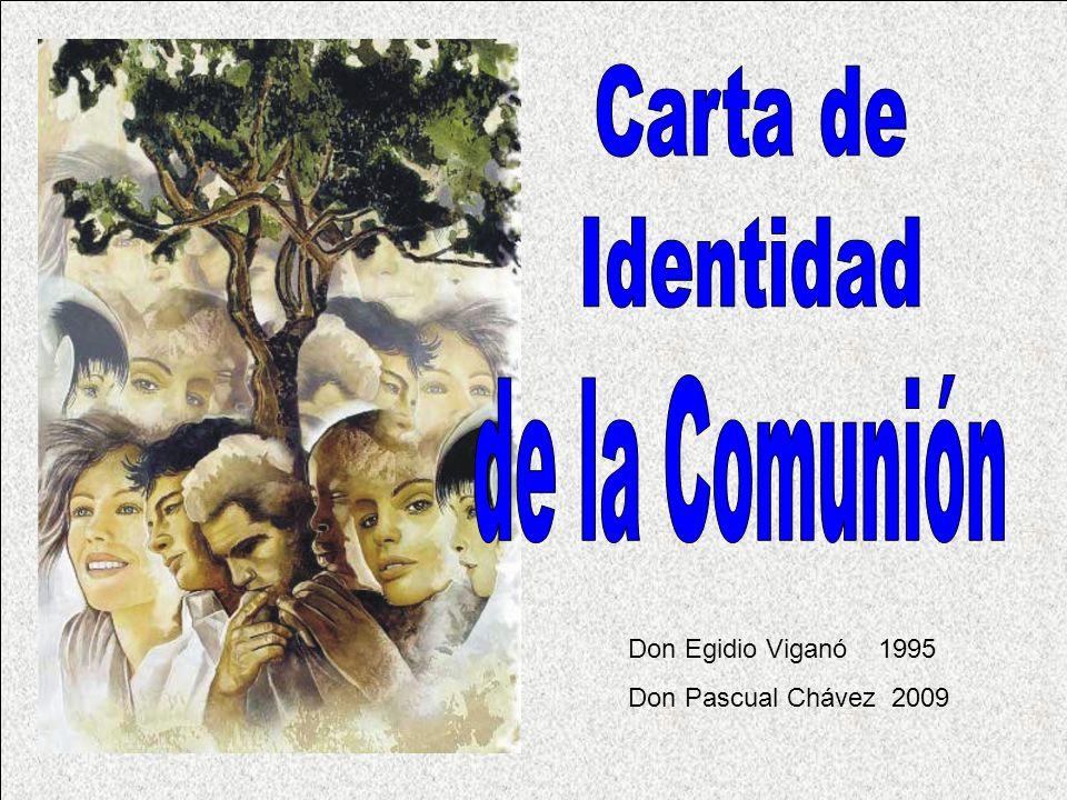 Carta de Identidad de la Comunión Don Egidio Viganó 1995