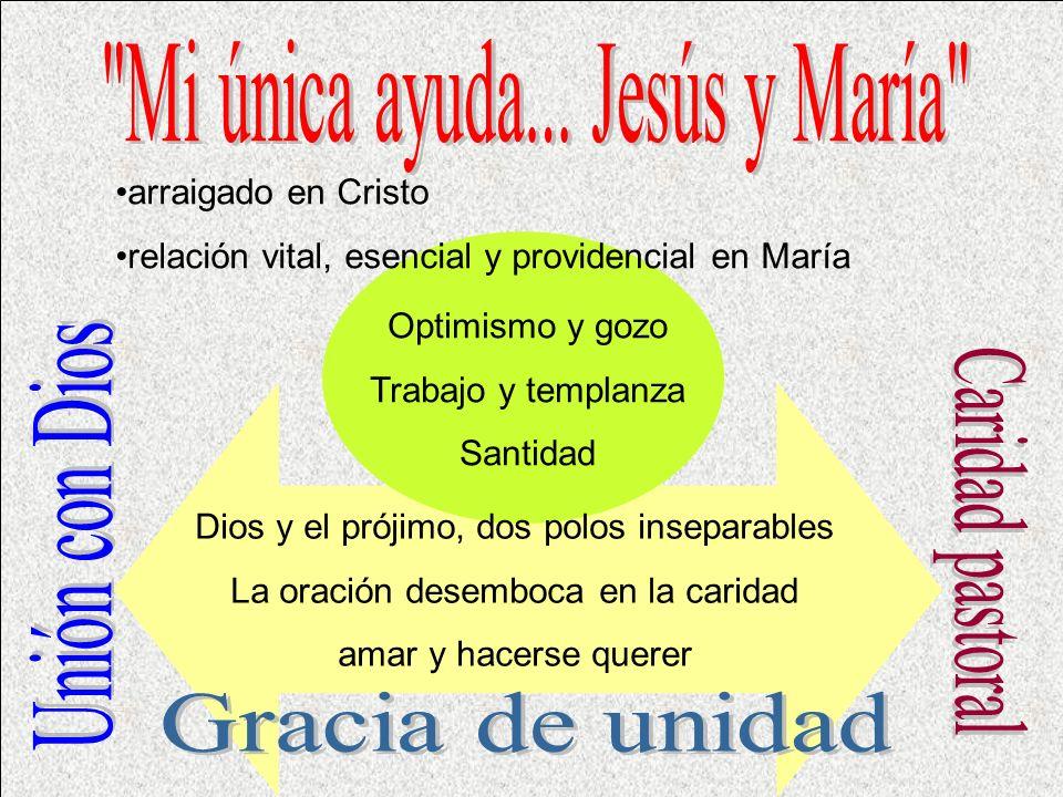 Mi única ayuda... Jesús y María