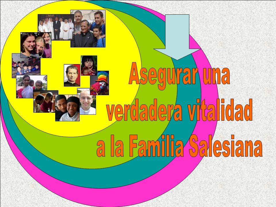 Asegurar una verdadera vitalidad a la Familia Salesiana