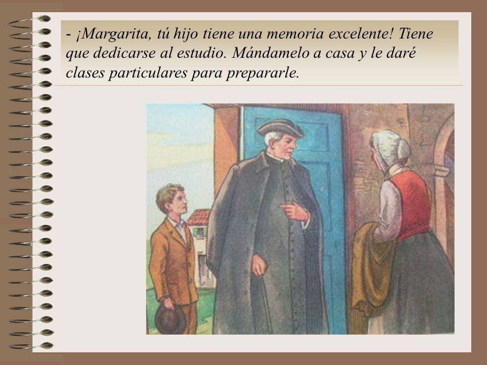 ¡Margarita, tú hijo tiene una memoria excelente