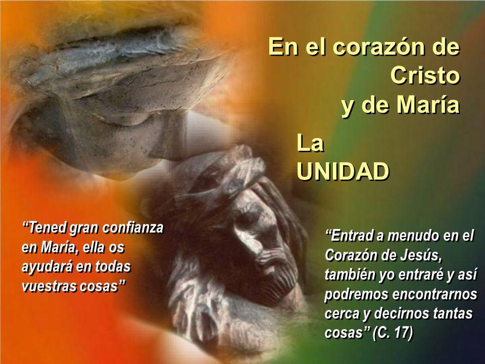 En el corazón de Cristo y de María