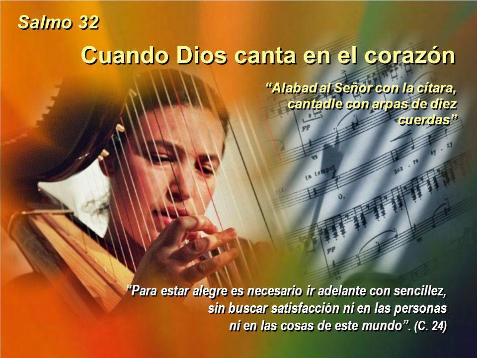 Cuando Dios canta en el corazón