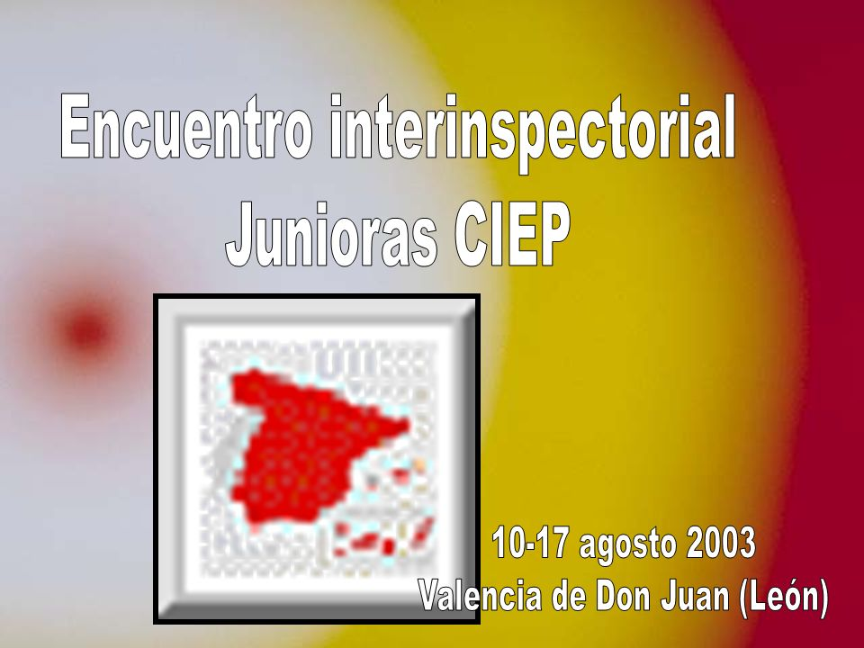 Encuentro interinspectorial Junioras CIEP