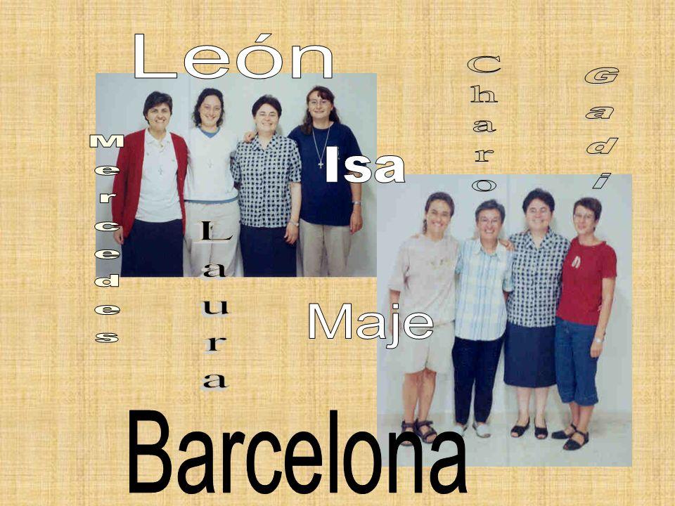 León Charo Gadi Isa Mercedes Laura Maje Barcelona