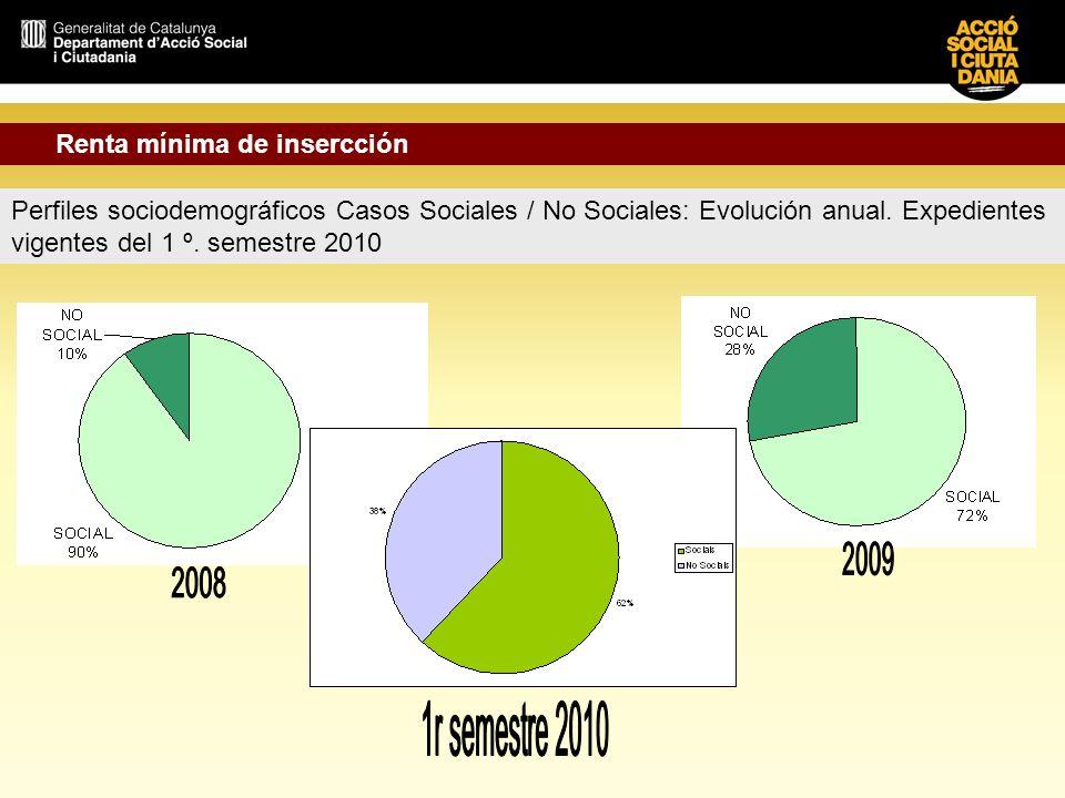 1r semestre 2010 Renta mínima de insercción