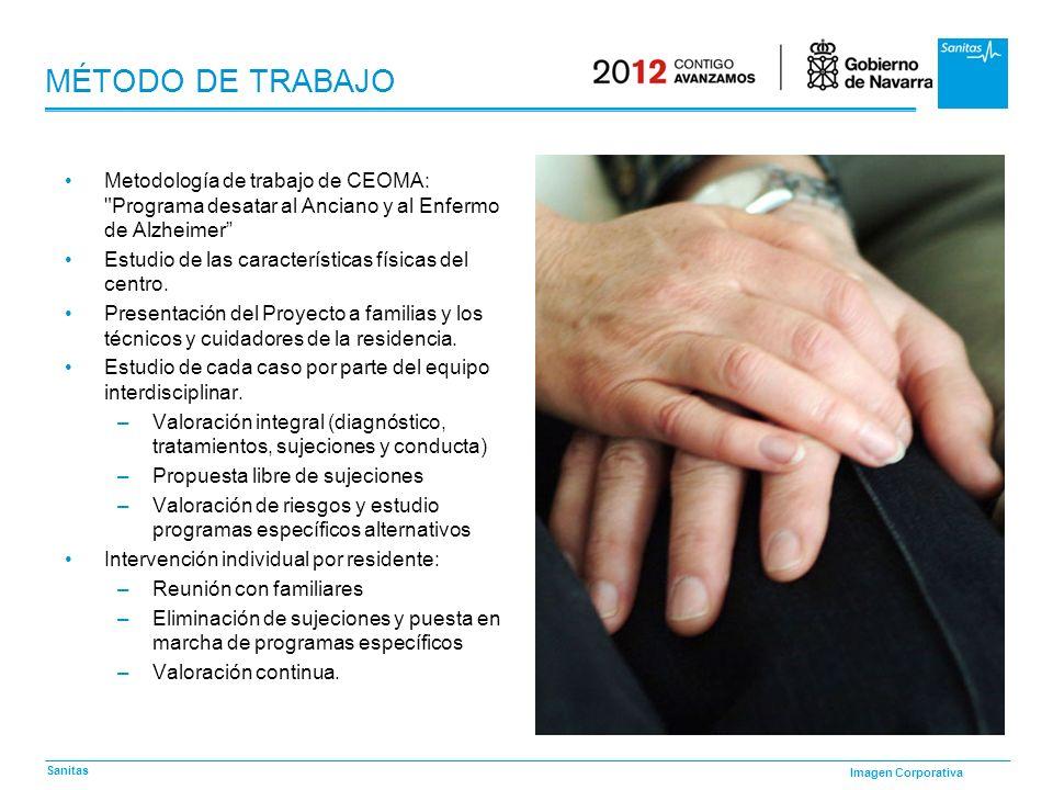 MÉTODO DE TRABAJOMetodología de trabajo de CEOMA: Programa desatar al Anciano y al Enfermo de Alzheimer