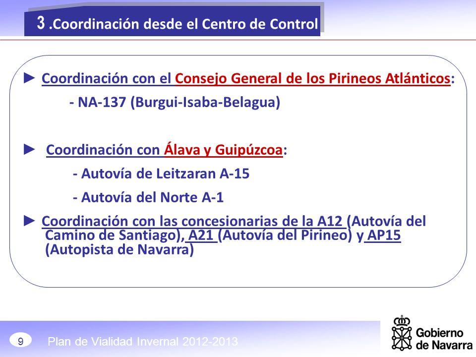 3 .Coordinación desde el Centro de Control