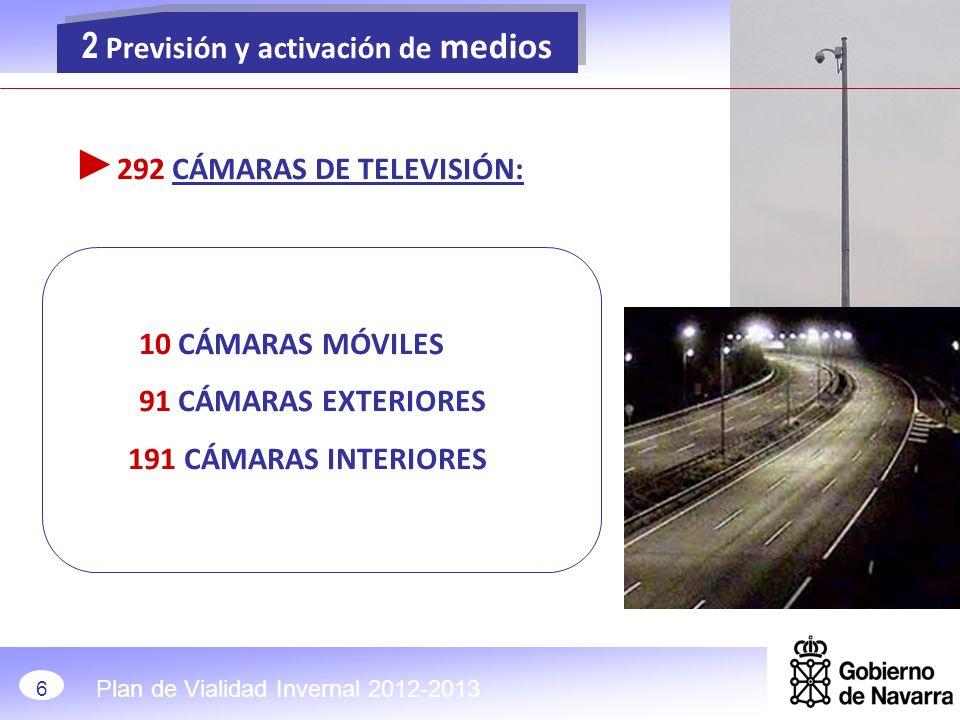 ►292 CÁMARAS DE TELEVISIÓN: