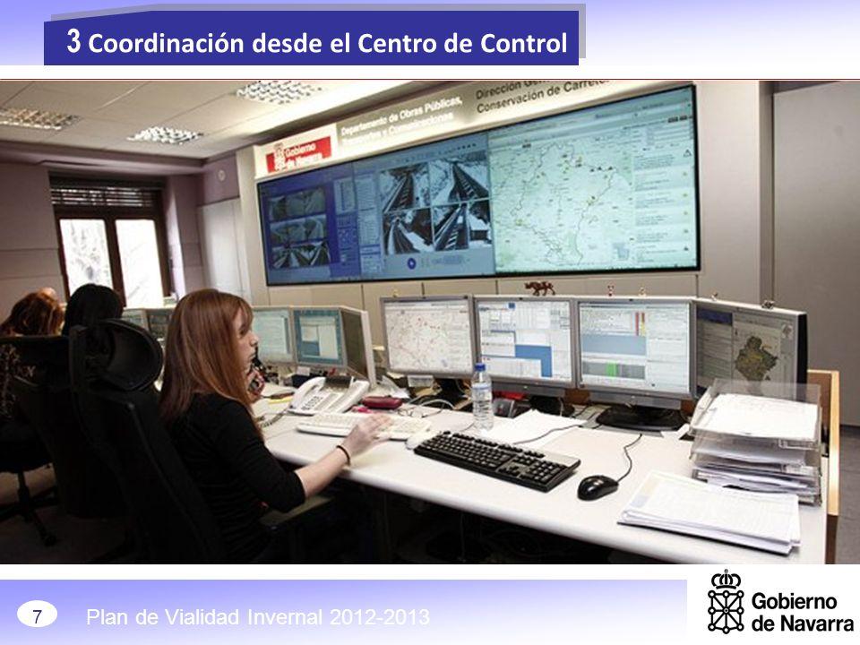 3 Coordinación desde el Centro de Control