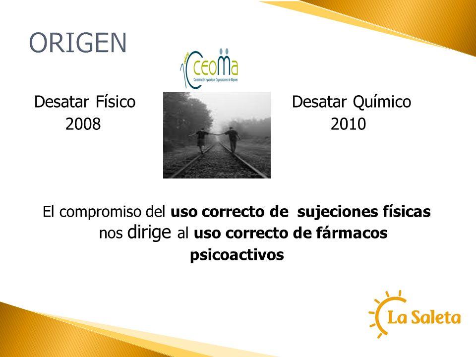 ORIGEN Desatar Físico Desatar Químico 2008 2010