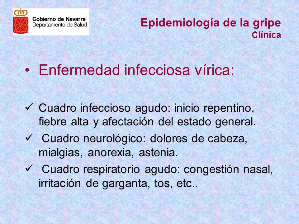 Epidemiología de la gripe Clínica