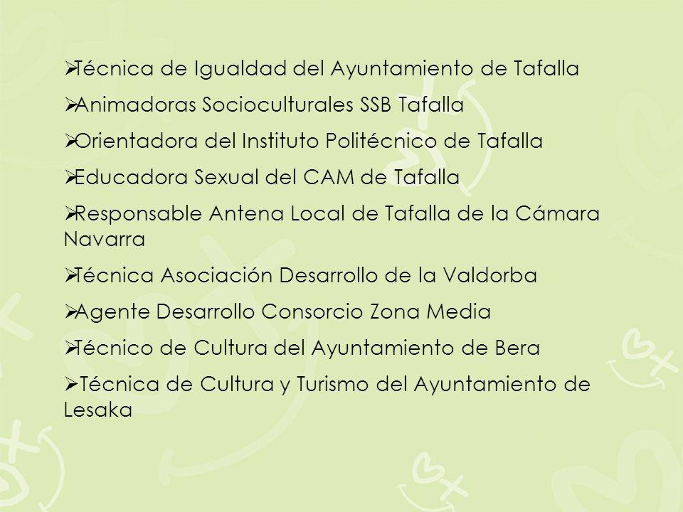 Técnica de Igualdad del Ayuntamiento de Tafalla