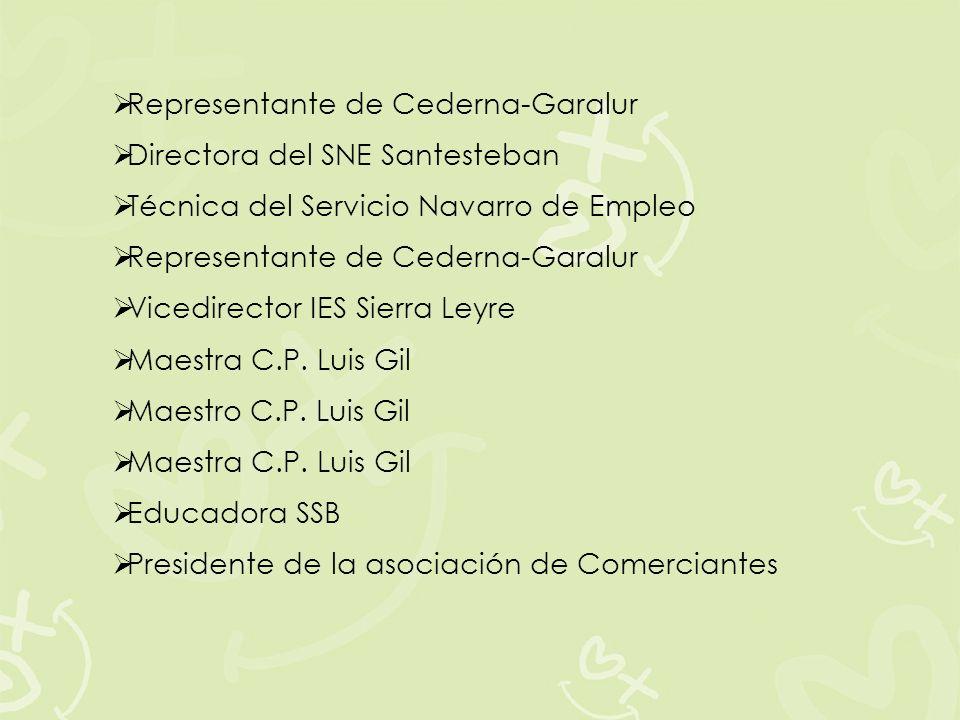 Representante de Cederna-Garalur