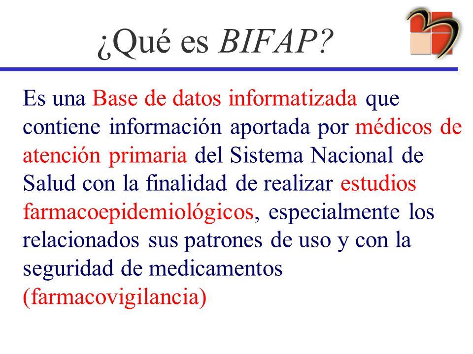 ¿Qué es BIFAP