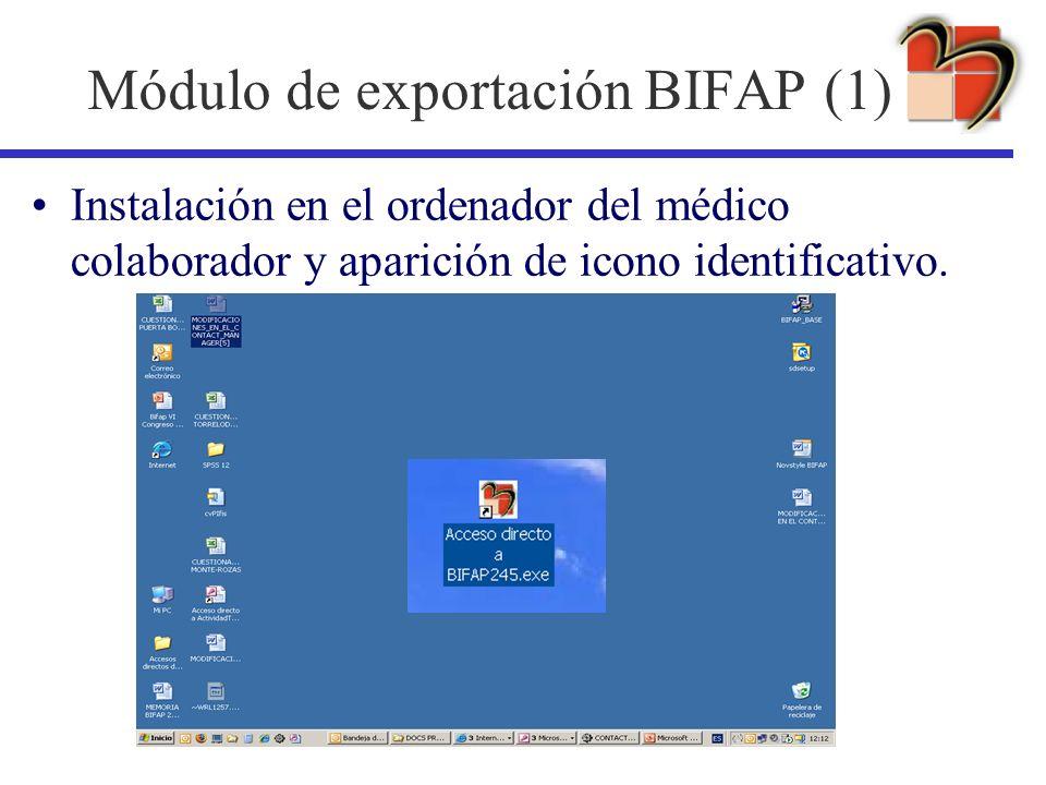 Módulo de exportación BIFAP (1)