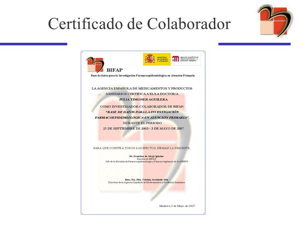 Certificado de Colaborador