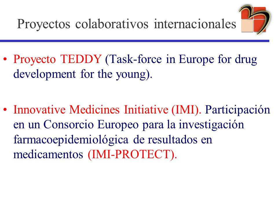 Proyectos colaborativos internacionales