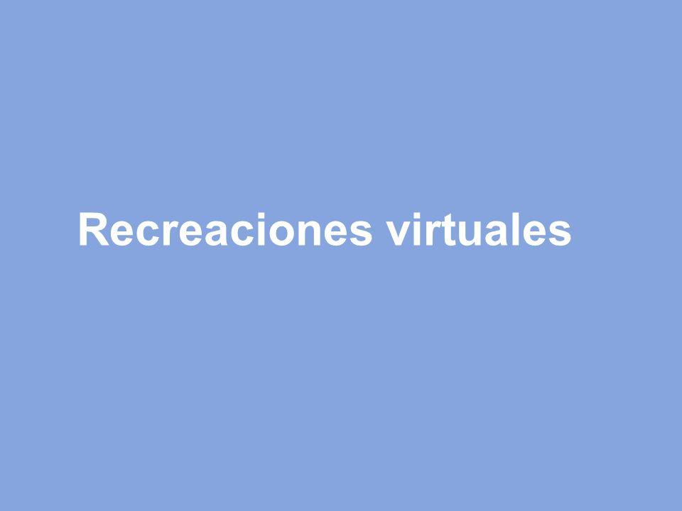 Recreaciones virtuales
